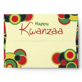 Happy Kwanzaa Envelopes envelope