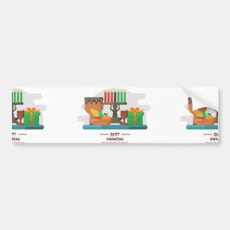 happy kwanzaa gifts bumper sticker