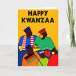 Happy Kwanzaa Holiday Card