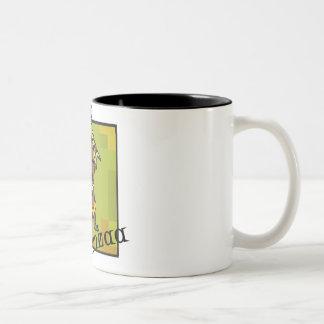 Happy Kwanzaa little Boy Two-Tone Coffee Mug