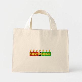 Happy Kwanzaa Mini Tote Bag