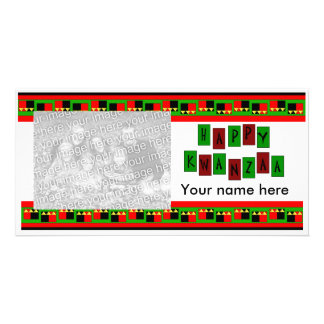 HAPPY KWANZAA Photo Card