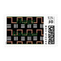 Happy Kwanzaa post stamps