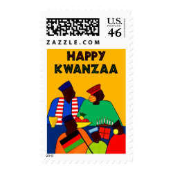 Happy Kwanzaa stamp