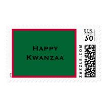 Happy Kwanzaa! Postage