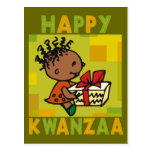 Happy Kwanzaa Postcard