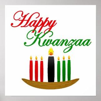 Happy Kwanzaa print