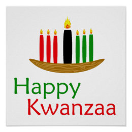 Happy Kwanzaa Poster