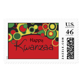 Happy Kwanzaa Stamps stamp