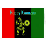 Happy Kwazza Blessings African-American Africa Cards