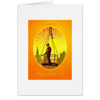 Happy Labor Day Our Fellow Workers Greeting Card