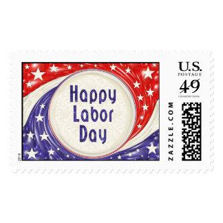 Happy Labor Day Postage