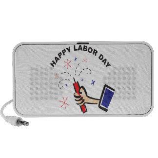 Happy Labor Day Travelling Speaker