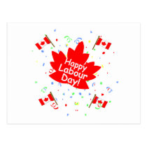 Happy Labour Day Postcard