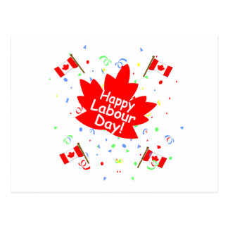 Happy Labour Day Postcard