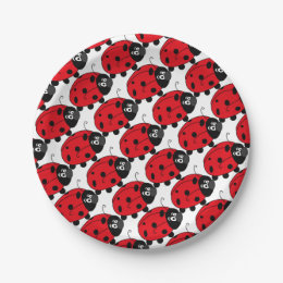Paper Plate Bugs Craftulate  sc 1 st  10000+ Best Deskripsi Plate 2018 & Lady Bug Paper Plate - Best Plate 2018