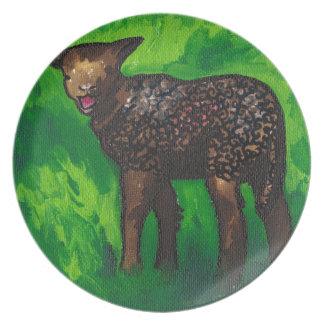 Happy Lamb Party Plates