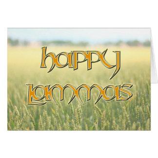 Happy Lammas Card