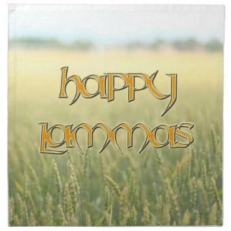 Happy Lammas Dinner Napkin (Cloth)