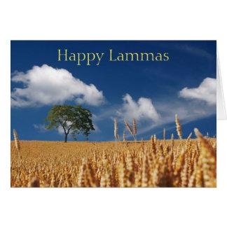 Happy Lammas (harvest) Card