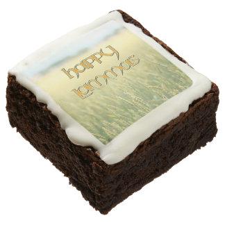 Happy Lammas Party Brownies