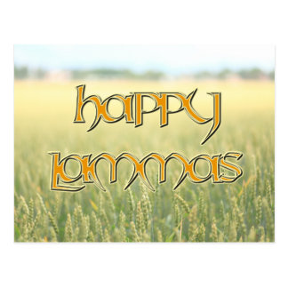Happy Lammas Postcard