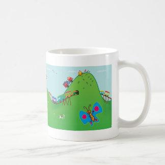Happy land coffee mug