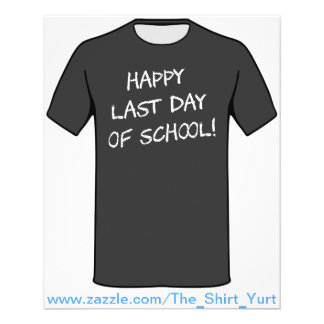 Happy Last Day of School Flyer