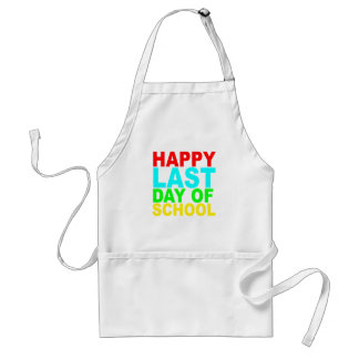 Happy Last Day of School s T-Shirts.png Adult Apron
