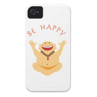 Happy Laughing Buddha iPhone 4 Case-Mate Case