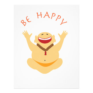 Happy Laughing Buddha Letterhead