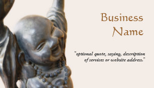 New age business cards templates zazzle happy laughing buddha new age business card colourmoves