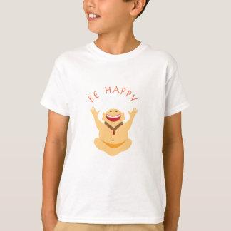 Happy laughing Buddha t-shirt