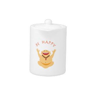 Happy Laughing Buddha Teapot