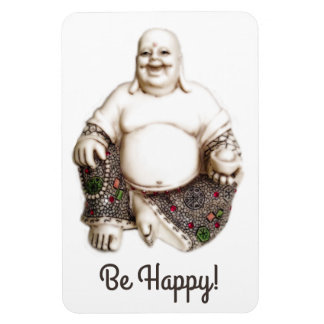 Happy laughing good luck Buddha Magnet