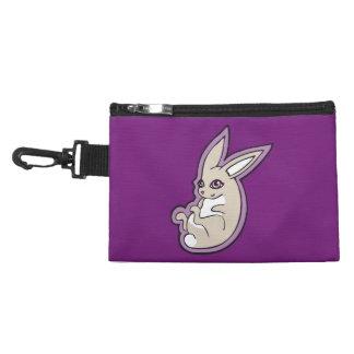 Happy Lavender Rabbit Pink Eyes Ink Drawing Design Accessories Bag