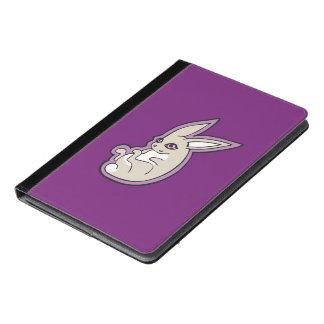 Happy Lavender Rabbit Pink Eyes Ink Drawing Design iPad Air Case