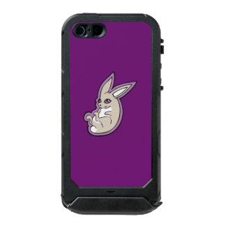 Happy Lavender Rabbit Pink Eyes Ink Drawing Design Waterproof iPhone SE/5/5s Case