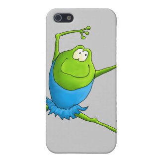 Happy Leaping Ballet Frog iPhone SE/5/5s Case