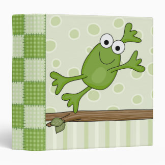 happy leaping frog binder