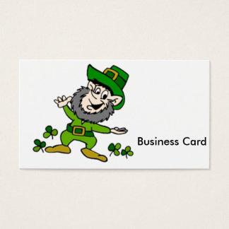 Happy Leprechaun Business Card