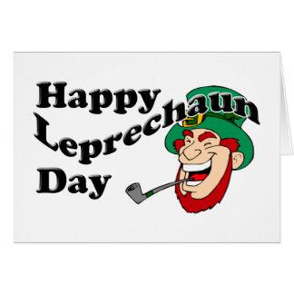 Happy Leprechaun Day Card