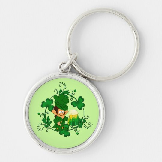 Happy Leprechaun Key Chain