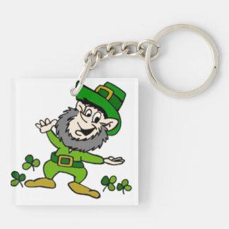 Happy Leprechaun Keychain