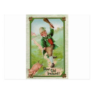 Happy Leprechaun Post Cards
