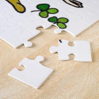 Happy Leprechaun Puzzle
