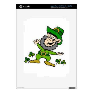 Happy Leprechaun Skins For iPad 3