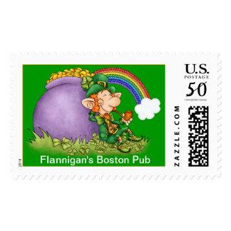 Happy Leprechaun - SRF Postage