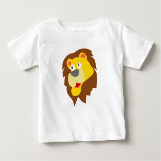 Happy Lion Baby T-Shirt