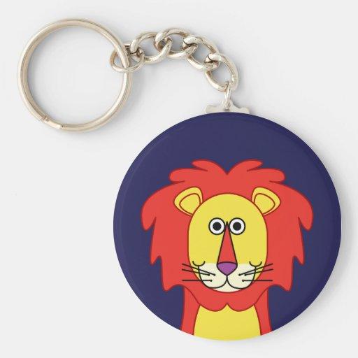HAPPY LION KEYCHAIN